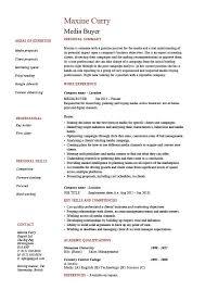 Examples Of Retail Resumes Stunning Senior Buyer Resume Sample Senior Buyer Cv Ctgoodjobs Powered By
