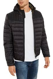 Threadbare Mens Terrier Quilted Coat Padded Hooded MA1 Zip Through ... & Threadbare-Mens-Terrier-Quilted-Coat-Padded-Hooded-MA1- Adamdwight.com