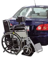 wheelchair lift for car. BACK-SAVER Hitch-Mount Wheelchair Lift For Car I