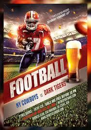football flyer templates football flyer design templates fightclix com
