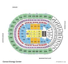 Wwe Seating Chart Xl Center Consol Energy Center Seating View Ppg Paints Arena Seating