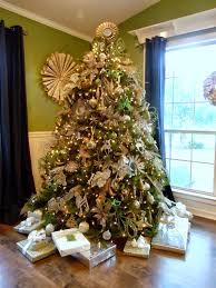 Glittery Gold Christmas Tree