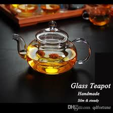2019 2018 new style handmade new 500ml heat resistant clear glass teapot with infuser lid for tea and return from qdfortune 11 05 dhgate com