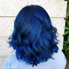 19 Most Amazing Blue Black Hair Color Looks Of 2019