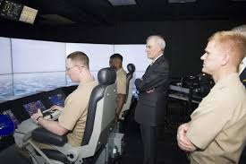 Secretary Of The Navy Visits Surface Warfare Officers School In