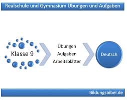 Deutsch Klasse 9 Realschule Und Gymnasium Bungen Und Aufgaben 9