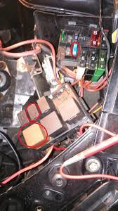 radiator fan not kicking in cliosport net but this only shows 1 large relay 4 smaller ones my 172 has 3 larger ones one brown two black and 3 smaller this is mine