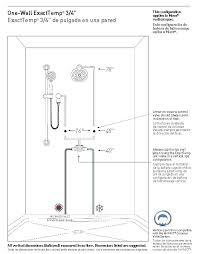moen posi temp valve installation shower valve install shower valve install rough in shower valve standard