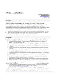 Stunning Resume Translation Spanish Photos - Simple resume Office .