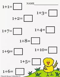 Free Printable Math Worksheets For Kindergarten Addition Printables ...