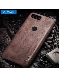 X-level VINTAGE <b>чехол</b>-накладка /зам.кожа/для Xiaomi Redmi Mi 8 ...