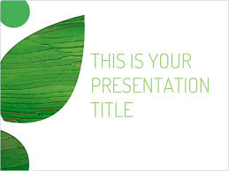Free Themes For Google Slides Free Green Powerpoint Template Or Google Slides Theme With