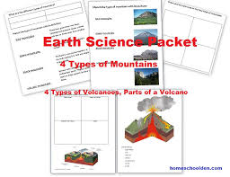 Earth Science Activities: Earthquakes, Plate Movement and Mountain ...