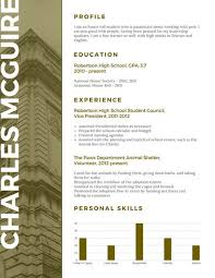 Scholarship Resume Template Inspiration Customize 28 Scholarship Resume Templates Online Canva