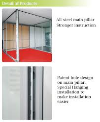 mdf with melamine cheap panel office partition steel modular room wall dividers cheap office dividers