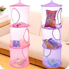 3 shelf hanging closet organizer 3 shelf hanging storage net kids toy organizer bag bedroom wall