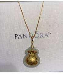 lucky money bag 24karat pure gold pendant with necklace 21k goldmix set