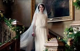 downton abbey wedding dress. downton abbey wedding: a sneak peek at lady mary\u0027s wedding dress   weddingbells 7