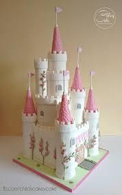 11 Disney Princess Castle Cakes For Girls Photo Princess Castle
