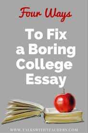 College Essays Tips The Biggest College Essay Mistakes Talks With Teachers