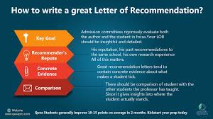 How To Write A Great Letter Of Recommendation Quva