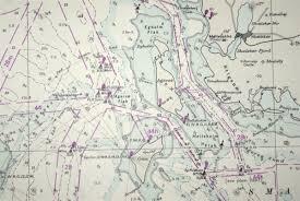 Nautical Chart No 2118 Denmark Entrance To The Baltic