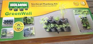 vertical garden kit review holman
