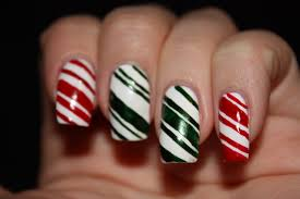 Nails In Nippon: Christmas Candy Canes!