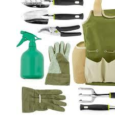 9 piece garden tools set gardening tools with garden gloves and garden tote