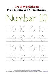 tracing-numbers | tag | Pre K Worksheets Org