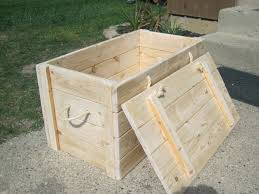 Wooden Crate With Handles Wood Storage Chest Make Your Own The Project Lady