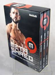 men s health the 21 day meta shred 3 phase 9 dvd set workout fitness metashred
