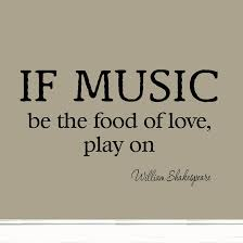 Music Love Quotes Extraordinary If Music Be The Food Of Love Play On Decal Wall Quotes Shakespeare