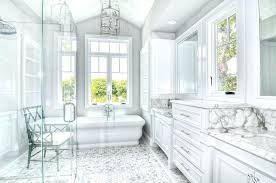 traditional master bathrooms. White Marble Master Bathroom Floor Traditional Bathrooms