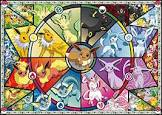 Buffalo Games Pokemon - Eevee's Stained Glass - 500 Piece Jigsaw Puzzle