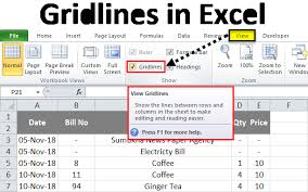 Or if a cell is crossed out, uncross it out. Gridlines In Excel How To Add And Remove Gridlines In Excel