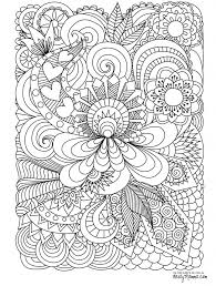 Abstract Doodle Coloring Pages Colouring Adult Detailed Advanced