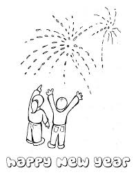 Small Picture Lovely Fireworks on Public Celebration for 2015 New Year Coloring