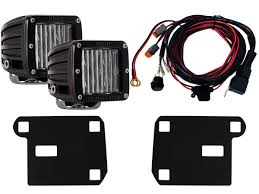 2016 Chevy Colorado Fog Light Kit Rigid Industries 46583 Rigid 2015 2016 Chevy Colorado Fog
