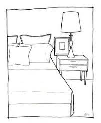simple bedroom drawing corepadinfo Pinterest