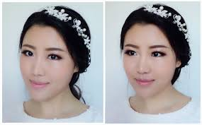 easy bridal makeup tutorial asian bridal makeup korean bridal makeup tutorial you