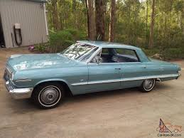 Chevrolet Impala 1963 4D Hardtop 2 SP Automatic 4 6L Carb in in ...