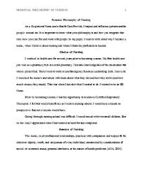 personal philosophy of nursing example personal professional  personal philosophy of nursing example personal professional philosophy of edu essay