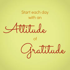 Image result for gratitude is the best attitude