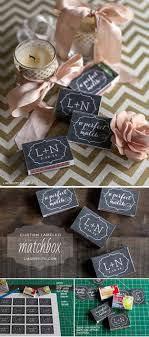 custom labeled matchbox wedding planning checklist