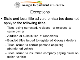 Start a free trial now to save yourself time and money! Georgia Department Of Revenue Changes To Georgia Law Impacting The Taxation Of Motor Vehicles Hb 386 Hb 266 And Hb Ppt Download