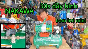 Máy bơm hơi Nakawa xách tay 20L không dầu Nk25-20 - YouTube