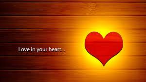 1920x1080 wallpaper love heart fire feeling
