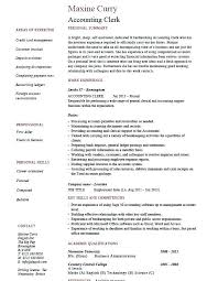 Accounting Specialist Resume Extraordinary Accounting Clerk Resume Theseventhco