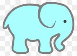 Baby Elephant Template Printable Baby Elephant Template Free Transparent Png Clipart